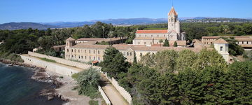 Wyspa Świętego Honorata (Île Saint-Honorat) - Cannes