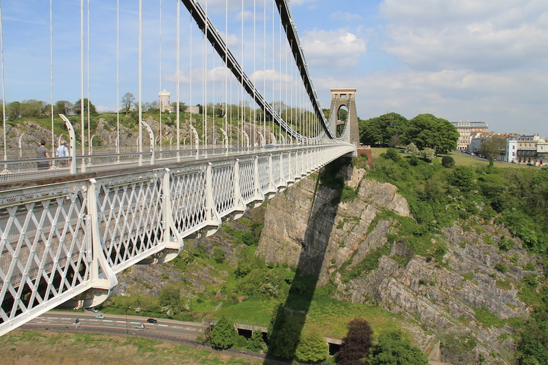 Clifton Suspension Bridge w Bristol - Anglia