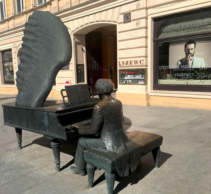 !Łódź, ul. Piotrkowska 78 - Fortepian Rubinsteina