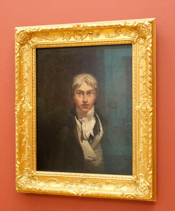 "!""Autoportret"" - William Turner (Tate Britain - Londyn)"
