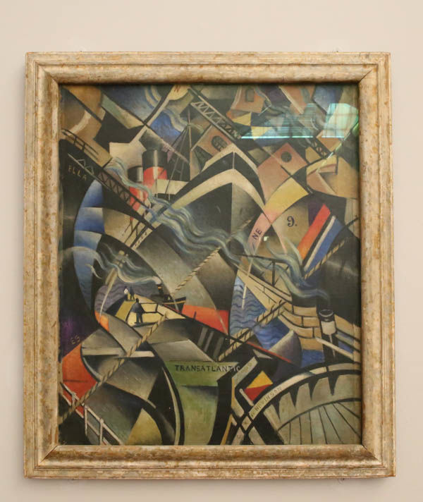 "!""The Arrvial"" - Christopher Richard Wynne Nevinson (Tate Britain - Londyn)"