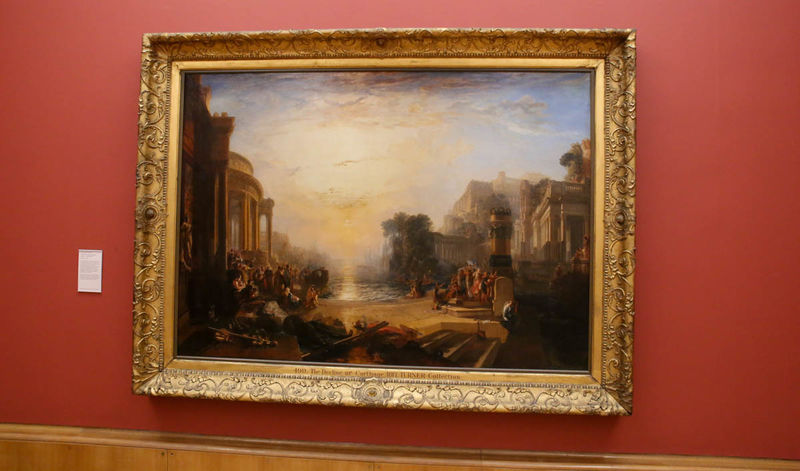 "!""Upadek imperium Kartaginy"" - William Turner (Tate Britain - Londyn)"
