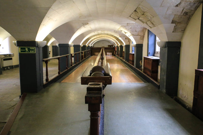 Kręgielnia - The Skittle Alley - Old Royal Naval College, Londyn