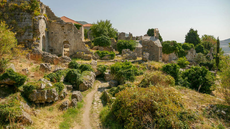 !Ruiny - Stary Bar, Czarnogóra