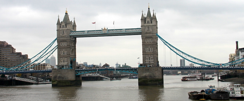 Tower Bridge - Londyn